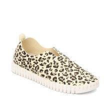 Isle Jacobsen Off White Multi Leopard Tulip Womens Comfort Slip On Shoes TULIP139LEO-121