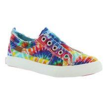 Blowfish Girls Rainbow/Tie Dye Play K Laceless Slip-On Shoe ZS-0061K TD PRT