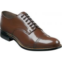 Stacy Adams Madison Lo Brown Leather Mens Dress 00012-02