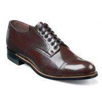 Stacy Adams Burgundy Madison Cap Toe Mens Dress Oxford Shoes 00012-05
