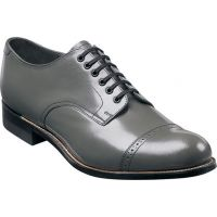 Stacy Adams Madison Lo Grey Leather Mens Dress 00012-10