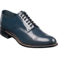 Stacy Adams Madison Lo Navy Leather Mens Dress 00012-22