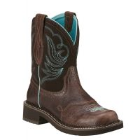 Ariat Royal Chocolate Fatbaby Heritage Dapper Womens Western Boots 10016238