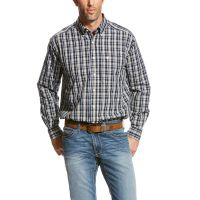 Ariat Multi Color Wrinkle Free Urban Long Sleeve Button Down Western Shirt 10024007
