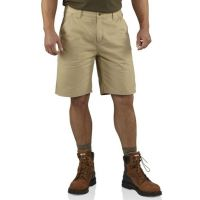 100245-285 Field Khaki Washed Twill Dungaree Carhartt Mens Shorts