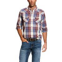 Ariat Multi Ingleman Retro Mens Long Sleeve Snap Western Shirt 10025621