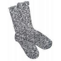 Birkenstock Black/Grey Cottom Slub Mens Socks 1008031