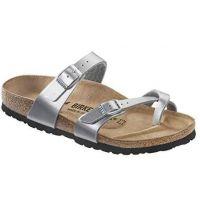 Birkenstock Silver Mayari Kids Comfort Sandal 1014 178