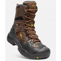 Keen Brown Coburg 8 inch Mens Waterproof Steel Toe Work Boots 1017833