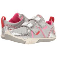 Plae 102021 Velcro Pink/Grey  Kids Athletic 102022-044