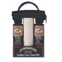 10FPR202 On-The-Go Leather Travel Care Kit