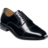 11222 BROXTON Black Leather Oxford Florsheim Mens Dress Shoes