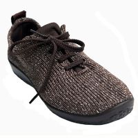 Arcopedico Brown Starry Night Knit Lace-Up Comfort Womens Shoes 1151-LS-TO