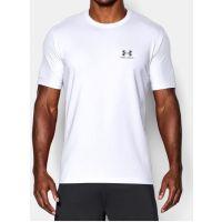 Under Armour White/Graphite Mens T-Shirt 1257616-100