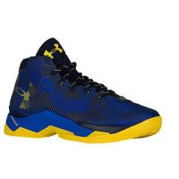 Under Armour Curry Blue/Yellow Mens Basketball 1274425-400