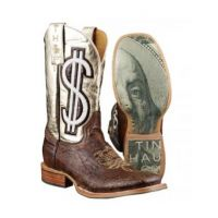 14-021-0007-0161BR Gold Digger Ladies Tin Haul Boots