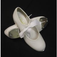 Barbette White Tyette Child Tap Shoes 1554C