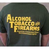 Alcohol & Tobacco Men's T-Shirt 15740