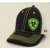 Ariat Lime Mens Pinstripe Ball Cap 1594001