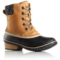 1702251-286 Elk Slimpack II Lace Up Womens Sorel Rain Boots