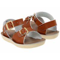 Salt Water Surfer 700 Tan Leather Kids Sandal 1703-TAN