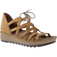 17116-EA7 Dune Nubuck Yarrow Womens Noat Wedge Sandals