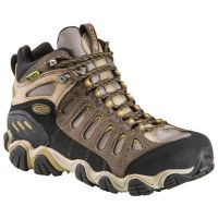 Oboz Sawtooth Mid Waterproof Olive Nubuck Mens Hiking 20701
