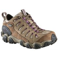 21402 SAWTOOTH LOW BDRY Violet Waterproof Oboz Ladies Hiking Shoes