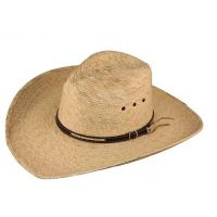 HatBiz Chambers Mens Straw Pinch Front Fancy Band 219PLSF