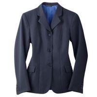 2200 Navy Pin Concour Elite Ladies Show Coat