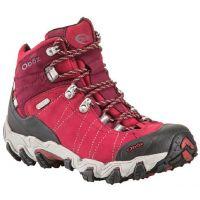 22102 BRIDGER MID BDRY Rio Red Waterproof Oboz Ladies Hiking Shoes