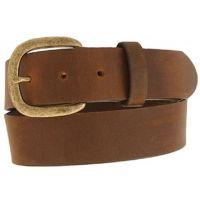 232BD Aged Bark 1 1/2 in Basic Justin Mens Work Belts