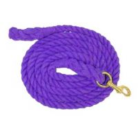 248067 Purple Cotton Lead with Snap