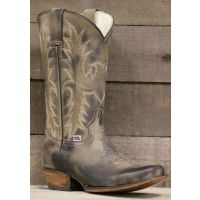RockinLeather Womens Distressed Brown Square Toe Western Boot 2561-RL