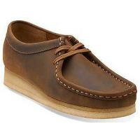 26103610 Wallabee Beeswax Leather Comfort Casual Clarks Womens Shoes