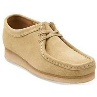 26103674 Wallabee Maple Suede Comfort Casual Clarks Womens Shoes