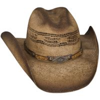 2740 Full Speed Bangora Straw Ventilated Crown Bullhide Cowboy Hats