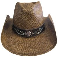 2794 Tennessee River Brown Straw Bullhide by Montecarlo Womens