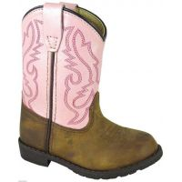 Smoky Mountain Hopalong Toddler Distressed Leather  Western 3246I