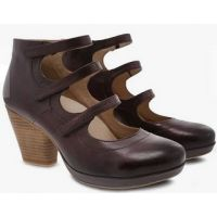 Dansko Marlene Wine Burnished Calf Womens Comfort Shoe 3514-880600