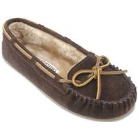 4012 Suede Cally Slipper Pile Lining Minnetonka Moccasins Womens Shoes