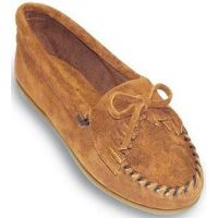 402 Hardsole Kilty Suede Moc Casual Minnetonka Moccasin Womens Shoes