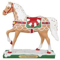 SWEET TREAT ROUND UP 7.25-in Resin Collectible Painted Ponies Figurine