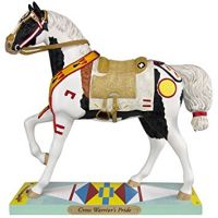 4049714 CROW WARRIOR'S PRIDE Resin Collectible Painted Ponies Figurine