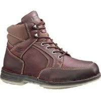 4507 Brown DuraShocks Mid Soft Toe Hiker Mens Wolverine Work Boots