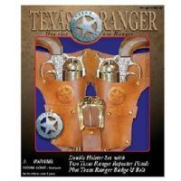 Parris Manufacturing Texas Ranger Double Holster Set Kids 4618