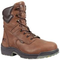 47019 Brown TiTAN Steel Toe Waterproof Timberland Pro Mens Work Boots