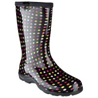 Sloggers Rain and Garden Boot - Multi Color Pin Dot Women's 5017PDM