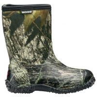 BOGS Classic Mid Camo Kids Waterproof Boots 51366