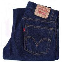 517-0216 Indigo Slim Fit Boot Cut Levi Strauss Mens Jeans